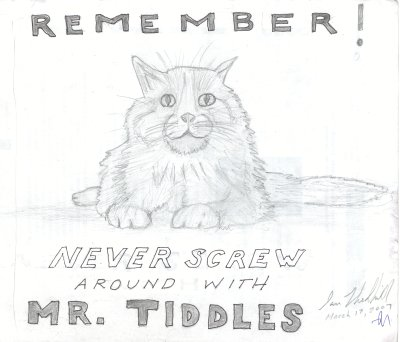 Don't Fuck With Mr. Tiddles